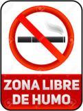 zona libre de humo